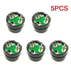5PCS Passive Buzzer AC 12MM*8.5MM 12085 16R Resistance 3V 5V 12V Applicable NEU