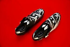 DMT Ultimax RSX Mountain Bike Shoes, New in Box, Size 45.5, Black/Silver