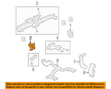 Hummer GM OEM H2 Dash Air Vent-AC A/C Heater Duct Outlet Louvre Left 25861044