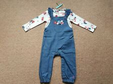 Joules Wilbury Dungaree Set BNWT Age 12-18 Months