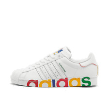 Men's adidas Superstar Casual Shoes Footwear White/Footwear White/Team Royal FY1