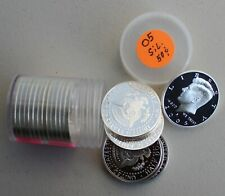 Roll of 2005 S Proof SILVER Kennedy Half Dollars Coin 50 Cent JFK Fifty Cents