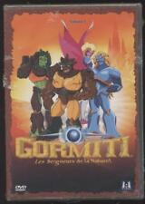 New gormiti season 1 dvd vol 1 1h45 5 episodes cartoon anime child occupation