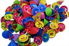 144 Smiley Smile Face Spin Spinning Tops Party Favors