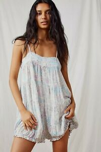 Free People Crush And Blush Romper all in one  BNWT xs  8/10