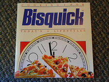 Old 1989 Bisquick Cooking for Today's Lifestyle Recipes Cookbook Pancakes Breads