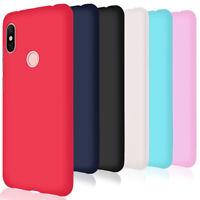 Soft Slim Case for Xiaomi Redmi Note 6 Pro Shell Plain Phone Cover Rubber Back