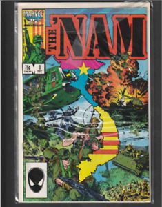 The 'Nam First Issue #1 1986 High Grade 1st app Edward Marks Comic Book