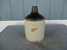 Vintage Red Wing 1 Gallon Whiskey Jug Crock Wing Only-Rare