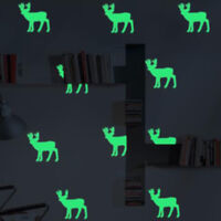 Space Luminous Stickers Art Decals Wall Door Window Home Decoration HS