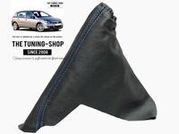 Soufflet Frein A Main Pour Opel Astra H 04-14 Cuir Surpiq Bleu
