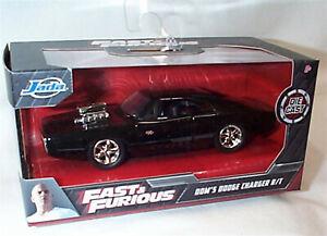 Fast & Furious Dom's Dodge Charger R/T Black 1-32 Diecast model Jada 97042 RB