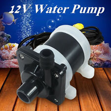 Submersible Water Pump Solar Powered Brushless Magnetic 700L/H Fish Pond DC 12V