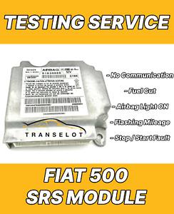 FIAT 500 51782985 AIRBAG ECU SRS MODULE NO COMMUNICATION REPAIR TESTING SERVICE