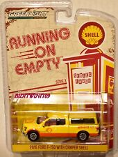 GREENLIGHT 2017 RUNNING ON EMPTY SERIES 3 2016 FORD F-150 WITH CAMPER SHELL
