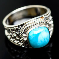 Larimar 925 Sterling Silver Ring Size 7.5 Ana Co Jewelry R974842F