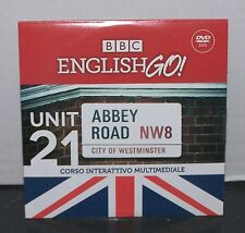 BBC ENGLISH GO - UNIT 21 - CORSO INTERATTIVO MULTIMEDIALE - SOLE24ORE DVD NUOVO