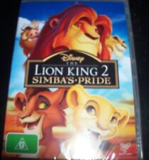 The Lion King 2 Simba's Pride Walt Disney (Australia Region 4) Kids DVD - New