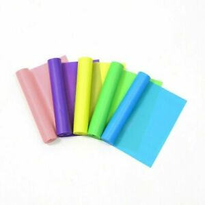 100% Latex Rubber Sport Fitness Running Yoga Pilates Tension band 1500*150*0.4mm