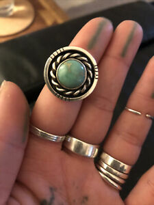 Sliver Turquoise Ring