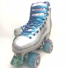 Size 7 Impala Sidewalk Holographic Quad 58x32 Roller Skates