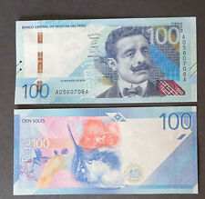 More details for peru 100 soles 2019 (released 2021) unc banknote