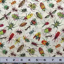 RAINFOREST ROMP - BUGS CREAM for NORTHCOTT - #39209-11 - Fabric by the ½ metre