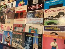 "Lot Of 10 12"" Lp Album Covers For Crafts/Decorations '50's-90's Rock/Pop/R&B/+"
