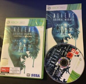 Aliens Colonial Marines Limited Edition Xbox 360 PAL With Manual