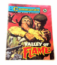 DC Thompson 1971 Early Commando Comic Book no.548, War Military Army