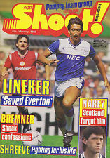 GARY LINEKER / BREMNER / SHREEVE / NAREY / PORTSMOUTH	Shoot	 	8	Feb	1986