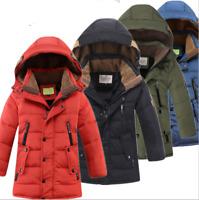 Kinder Jungen Mantel Daunenjacke Winter Jacke SteppJacke Outdoor Warme Mantel