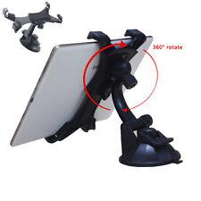 "Car Windshield Instrument Desk Mount Holder Bracket For Ipad Galaxy Etc 7""-10"""