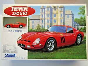 Gunze Sangyo 1:24 Scale Ferrari 250 GTO Model Kit - New - Kit # G-190:1200