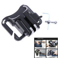 Waist belt buckle for camera mount clip loading fast holster hanger holder