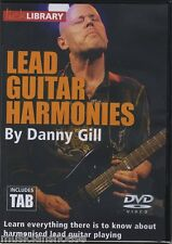 DANNY GILL Learn to Play LEAD GUITAR HARMONIES HARMONY Lick Library ROCK DVD TAB