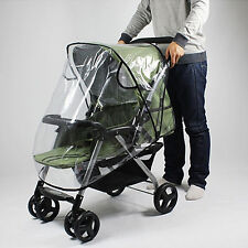 KQ_ Waterproof Wind Shield Baby Stroller Pushchair Pram Rain Cover Hot Magic