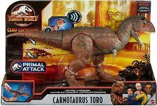 Mattel Carnotaurus Toro Sounding Brown Jurassic World Control 'n Conquer GNL07
