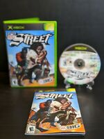 NFL Street (Microsoft Xbox, 2004) *Complete*CIB*Tested*Clean*Manual Included*