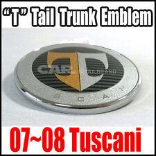 """HYUNDAI TIBURON 2007-2008 Tail Gate Trunk 'T"""" Emblem """"Genuine OEM"""" 863202C700"""