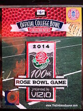 NCAA Vizio Rose Bowl 100th Year Patch 2013/14 Michigan State, Stanford