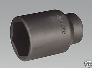 (SBS) AIR Impact Socket 41mm Deep 1/2 Drive  Hub Nuts SOCKET