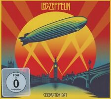 LED Zeppelin-Celebration Day 2 CD + Blu-Ray HARD ROCK NUOVO