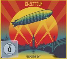 LED ZEPPELIN - CELEBRATION DAY 2 CD + BLU-RAY HARD ROCK NEU