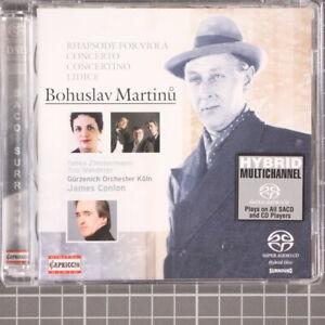 Martinu James Conlon Rhapsody for Viola Hybrid SACD Capriccio 2005 Sealed