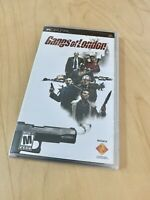 Gangs Of London New Factory Sealed PSP Playstation Portable Rare Game Sony