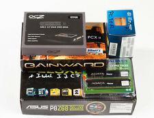 Mainboard Bundle - ASUS P8Z68 Deluxe + Intel i7 2700K + 8GB Speicher + SSD