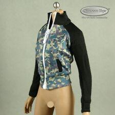 1/6 Scale Phicen, TBLeague, Kumik, Flirty Girl Female Camouflage Sports Jacket