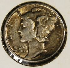 1944 Silver Mercury Dime! Rare, Extremely Fine condition, d347