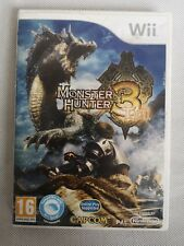 Monster Hunter 3 Tri Nintendo Wii 2010 European Pal Version Complete with Manual